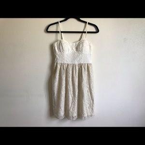 AMERICAN EAGLE lace spaghetti strap dress